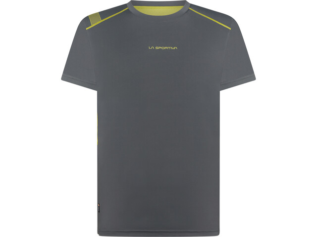 La Sportiva Blitz T-Shirt Heren, carbon/kiwi